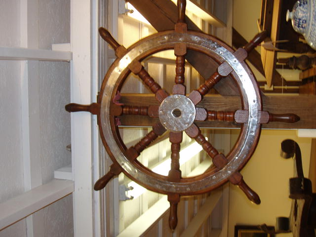 Oak ship wheel