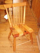 plank seat chairs