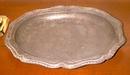 Pewter Platter