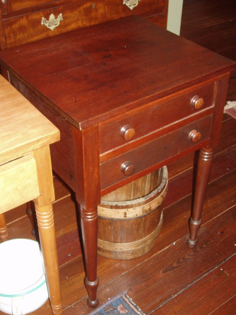 Two Drawer End Table