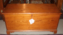 Heart Pine Blanket Chest