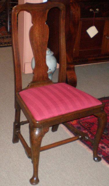 Queen Anne Walnut Chair