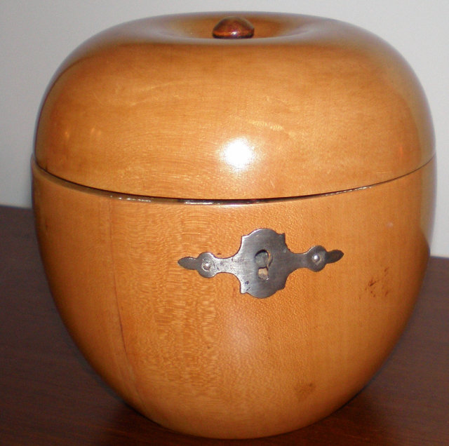 Maple Apple Tea Caddy