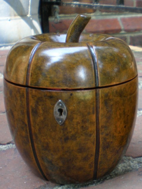 Mellon Tea Caddy