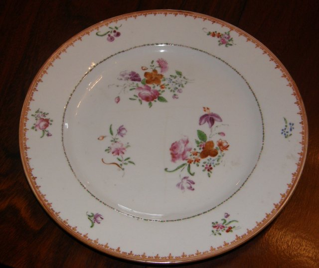 Set of Ten Chinese Export Plates