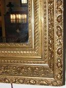 Gold Leaf Framed Mirror