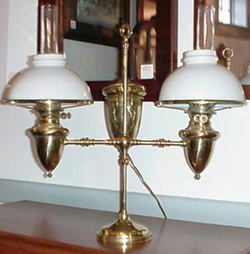 Double Burner Student Lamp