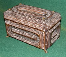 Tramp Art Jewlery Box