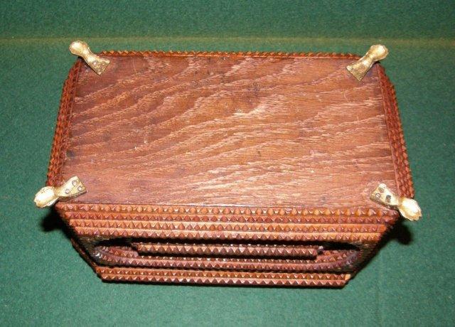 Tramp Art Jewlery Box