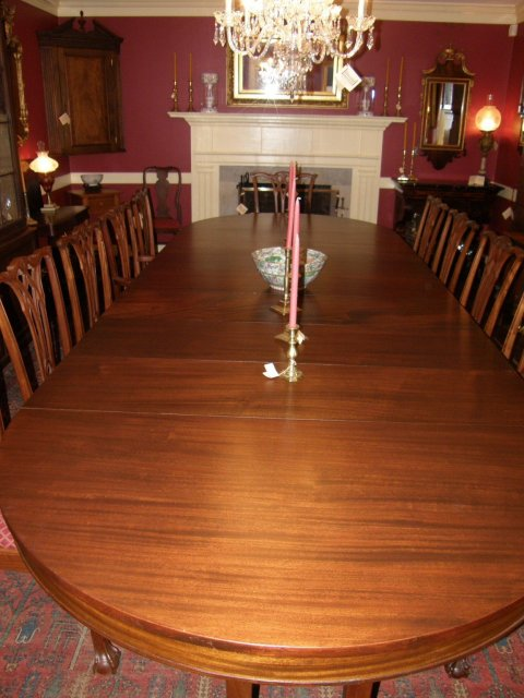 Duncan Phyfe Dining Room Table