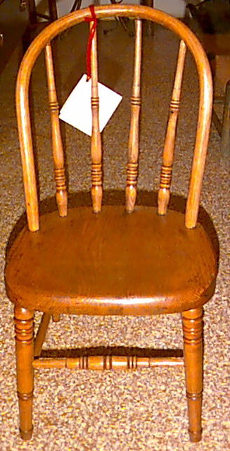 Single Child's Chair