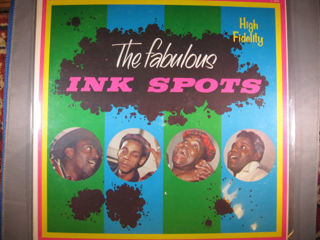The Fabulous Ink Spots 33 1/3 LP Record