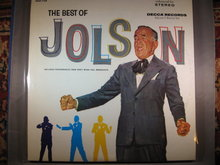 The Best of Al Jolson 33 1/3 LP Record 2-Record Set