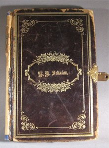 German Evangelical Songbook 1890 by Schafer