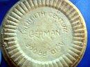 Blue Vintage Germam Stoneware Crock Bowl Twentieth (20th) Century
