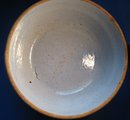 Blue Vintage Germam Stoneware Crock Bowl Twentieth (20th) Century