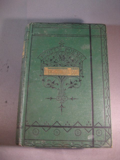 Lady of the Lakes, HB by Sir Walter Scott cp. 1871 1st ed.