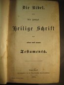 German Bible, Die Bibel cp 1884, HB