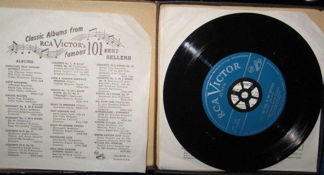 Vaughn Monroe's Dreamland Special 45 RPM Record Set in original case