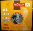 Eddy Arnold All Time Hits from the Hills 45 RPM Record Set in original case