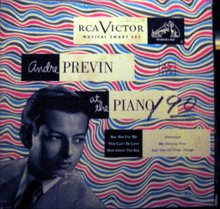 Andre Previn at the Piano 45 RPM Record Set in original Case