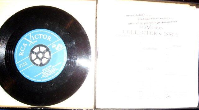 Andre Previn at the Piano 45 RPM Record Set in original Case
