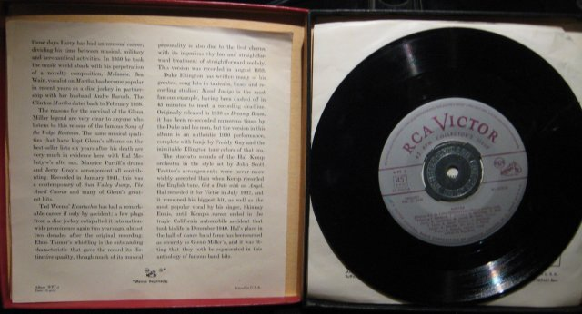 A Treasury of Immortal Performances Dance Bands 45 RPM Record Set in original Case