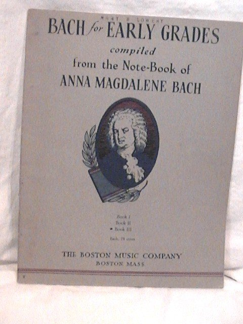 Bach for Early Grades from Anna Magdalene Bach