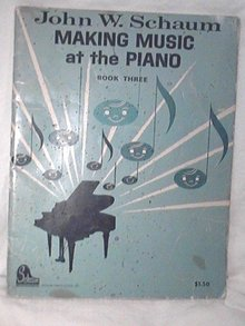 John W. Schaum Making Music at the Piano Book Three