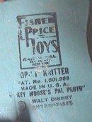Vintage Fisher-Price Pluto Pop Up Kritter