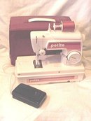 Petite Vintage Childs Sewing Machine with Case