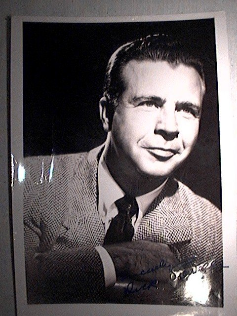 Photograph signed by Dick Powell