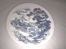 Wedgwood Countryside  Dinner Plate