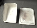Porcelain Two-piece Cheese Dish