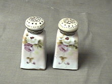 Pair of Nippon Salt and Pepper Shakers