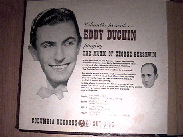 Duchin-Gershwin Record Set by Columbia (7 inch)