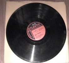 White Christmas by the Drifters single record