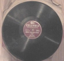 Rudolph the Red-nosed Reindeer by Gene Autry single record (7 inch)