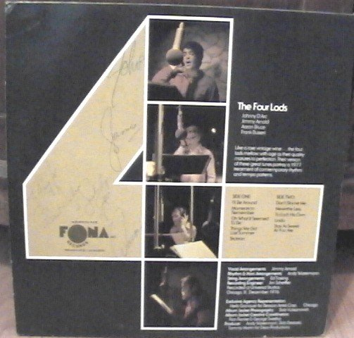 The Four Lads Ten Million & Still Counting LP Record Signed