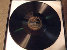 12-inch 78 RPM Record Nearer My God to Thee