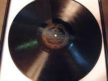 12-inch 78 RPM Record Stars and Stripes Forever by Arthur Pryors Band