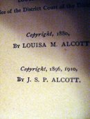 Little Women by Louisa May Alcott cp 1910