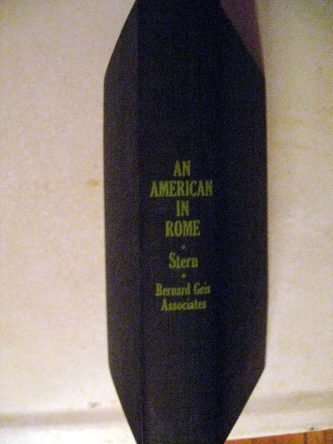 An American in Rome by Michael Stern cp 1964