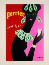 Villemot Perrier Femme Noir - Necklace poster