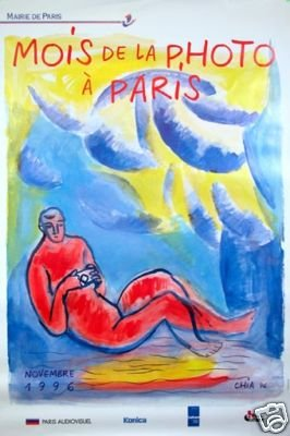 Sandro Chia Mois de Photo Paris 96 original poster