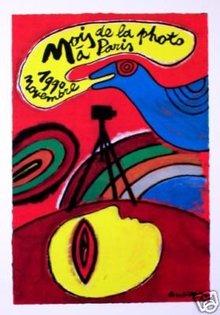 Herve Dirosa Mois de Photo Paris 90 original poster