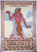 Messageries Maritimes Marseille-Alexandrie Daviel 1924