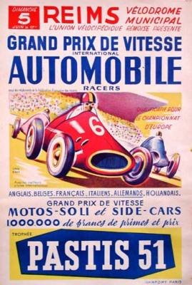 Grand Prix Vitesse by Van Dam Car Race Reims