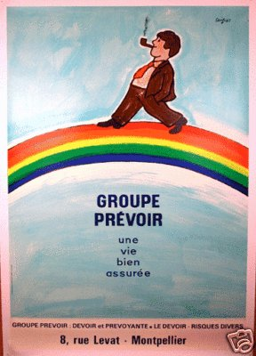 Group Prevoir by Savignac 47 x 63 inches