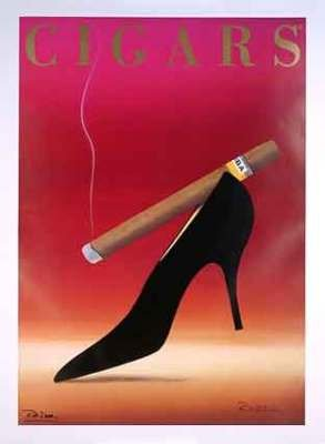 Cigars Poster by Razzia original mint 1994
